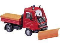 Busch 42225 H0 Multicar M26 brandweer met sneeuwschuiver