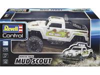 revellcontrol Revell Control 24643 New Mud Scout 1:10 RC modelauto voor beginners Elektro Monstertruck Achterwielaandrijving