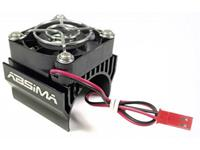 Absima Motorkoellichaam met ventilator 40 mm Ventilatorpositie: In het midden geplaatst Zwart
