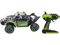 Amewi 22221 X-Knight 1:18 RC modelauto voor beginners Elektro Buggy 4WD Incl. accu, oplader en batterijen voor de zender