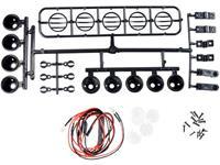 Amewi 28973 Dakschijnwerper met 5 LEDs Zwart
