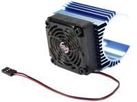 Hobbywing Motorkoellichaam met ventilator 60 mm Ventilatorpositie: In het midden geplaatst Geschikt voor modelbouwmotor: #####44 mm (Ø) Motoren