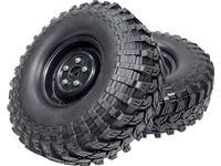Absima 1:10 Crawler Complete wielen #####Mud Terrain 2 stuk(s)