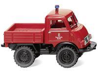 Wiking 036804 H0 Unimog Brandweer - u 401
