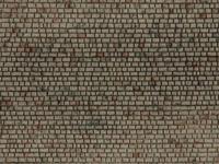 noch 0060372 H0 Muur met metselwerk Kuboid