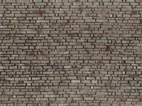 noch 0060370 H0 Muur met metselwerk Rotswand