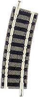 fleischmann N  Piccolo (met ballastbed) 9122 Gebogen rails R1 15 ° 192 mm