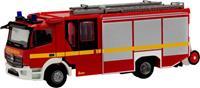 herpa 095327 H0 Mercedes Benz Atego 13 Ziegler Z-Cab brandweer