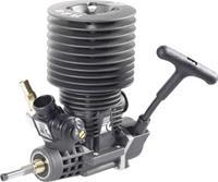 forceengine Force Engine nitromotor 28 Black Series vermogen 2.9 pk / 2.15 kW cilinderinhoud uitlaatpoort Achterkant