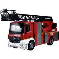 amewi 22502 Mercedes-Benz Feuerwehr-Drehleiterfahrzeug - Lizenzfahrzeug 1:18 RC truck 100% RTR Incl. accu en laadkabel