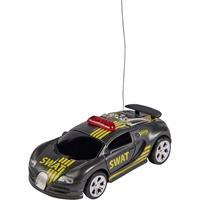 Carson Modellsport 404218 Nano Racer SWAT 1:60 RC auto Elektro Racewagen Incl. accu, oplader en batterijen voor de zender
