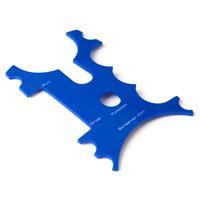 X2 Screamer Beetmelder Frontje - Blauw - 4 stuks