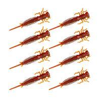 Senshu Nymph Crawler - Motoroil Red FLK  - 5cm - 8 Stuks