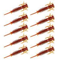 Senshu Nymph Crawler - Motoroil Red FLK - 4cm - 10 Stuks