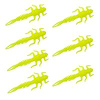 Senshu Big May Fly - Yellow Fluo - 6cm - 1.5g - 7 Stuks
