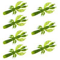 Senshu Flapping Craw - Appleseed - 6.5cm - 2.75g - 7 Stuks