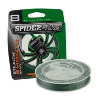 Spiderwire Stealth Smooth 8 - Moss Green - 10.3kg - 0.11mm - 150m