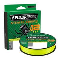 Spiderwire Stealth Smooth 12 Braid Hi-Vis - Yellow - 0.29mm - 26.4kg - 150m - Gevlochten Lijn