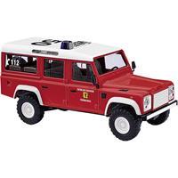 Busch 50376 H0 Land Rover Defender brandweer-brandweer-afdeling in de Duitse