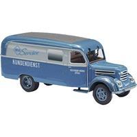 Busch 51803 H0 Robur Garant K 30 bestelwagen klantenservice Robur Werke Zittau