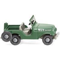 Wiking 001103 H0 Jeep W & W houtbouw