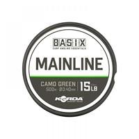 Korda Basix Mainline - Nylon Vislijn - 15lb - 0.40mm - 500m
