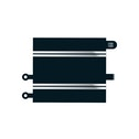 Scalextric Straight Classic To Sport Convertor Track Accessory Pack