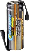 Conrad energy NiMH ontvangeraccu NiMH 2/3 AAA 1.2 V 350 mAh Met soldeerlip