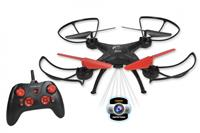 Gear2play drone Nova XL junior 29 x 29 cm zwart/rood