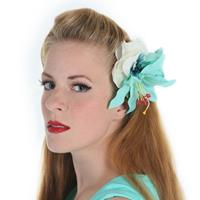Fiftiesstore HM Corsage Mint to be