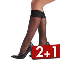 Oroblu Mi-Bas Jeune 20 Sheer Knee-Highs