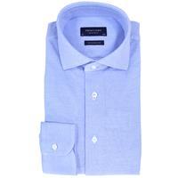 Profuomo overhemd Slim Fit PP0H0A047 in het Blauw