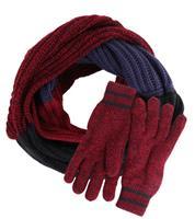 Suitable Set Circle Sjaal en Handschoenen 15-10