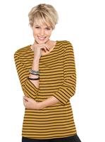 Your look for less! Shirt, Kerrie gestreept