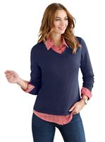 Your look for less! Pullover, marine