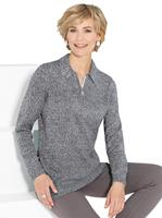 Your look for less! Pullover, antraciet gemêleerd