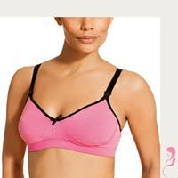 boob BB Voedingsbeha / Zwangerschapsbeha Fast Food Stripe Pink