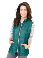 Your look for less! Gilet, petrol