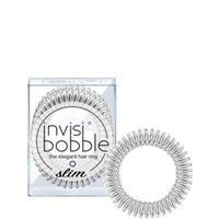 invisibobble smalle haarband - zilverkleurig