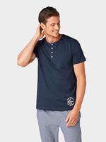 Tom Tailor pyjama T-shirt, Heren, blue-dark-solid