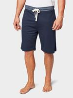 Tom Tailor Jersey Bermuda Shorts, Heren, blue-dark-solid