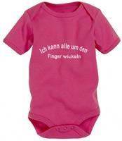 Playshoes romper korte mouw junior katoen roze/wit mt 50/56