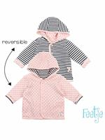 feetje Vest  - Roze - Katoen/polyester/elasthan