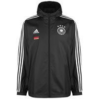 Adidas Duitsland Windbreaker Jacket 2020-2021 - Zwart
