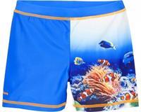 Playshoes zwemshort Koraal UV-werend blauw maat 86/92