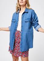 Noisy May Loose Fit Spijkerblouse Dames Blauw