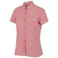 Regatta blouse Mindano V dames polyester rood bloemen