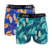 J-en-C J&C heren boxer 2 pak