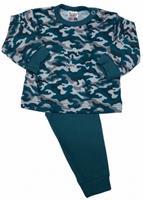 Beeren pyjama Camouflage jongens legergroen