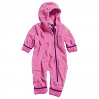Playshoes babypyjama onesie fleece meisjes roze